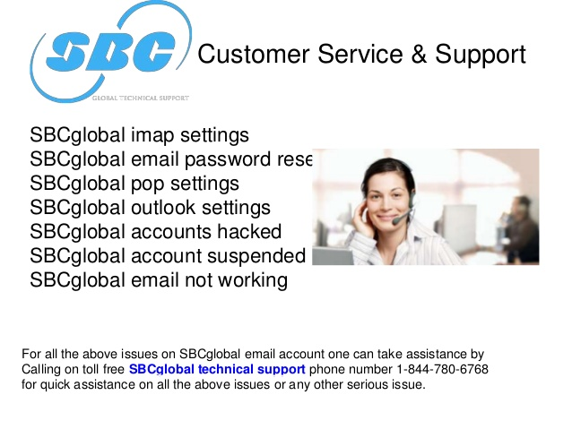 1 - 833 - 490 - 0999 how to contact SBC Global Customer Service.
